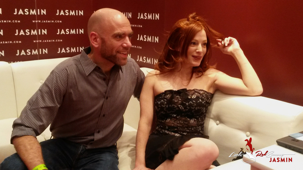 OHenri was the first of my great fans to visit me at the Jasmin Booth.