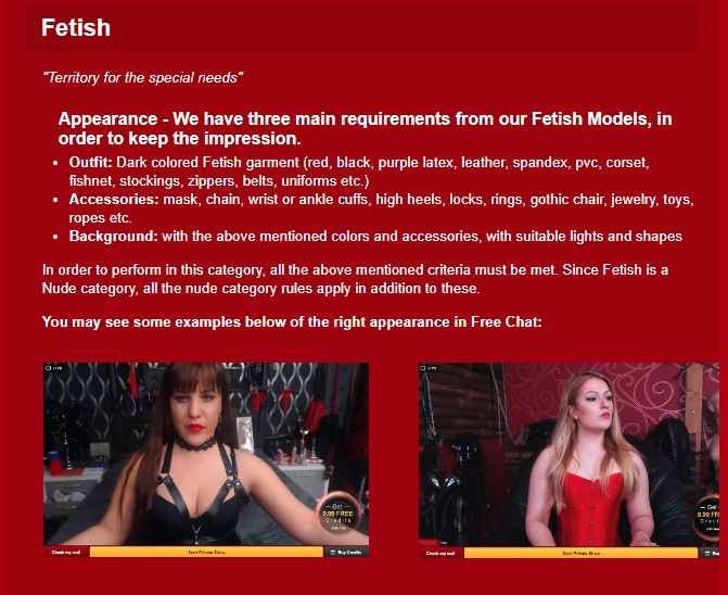new rules _wiki fetish